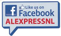 Alexpress en facebook-like